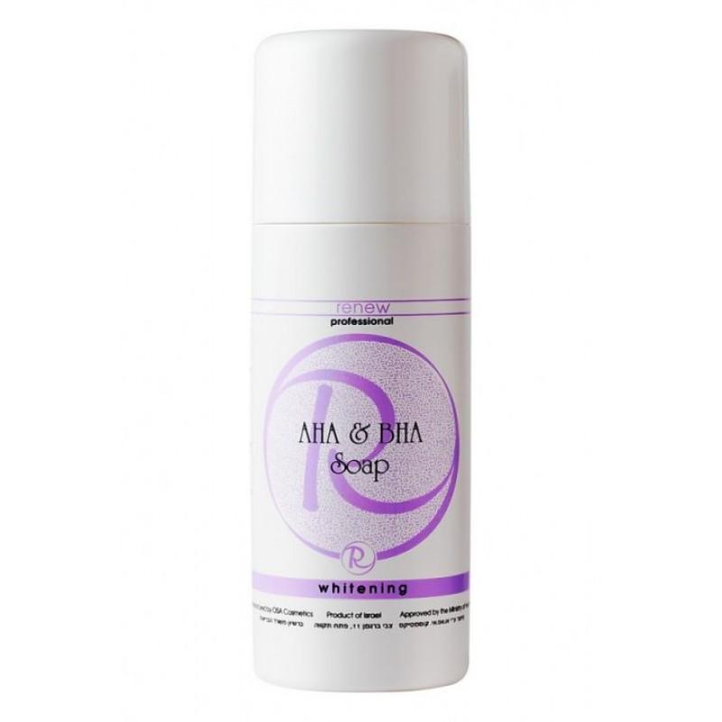 Жидкое мыло с Альфа и Бета кислотами  /Whitening AHA & BHA Soap 250ml