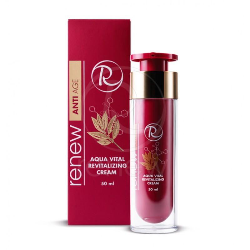 Антивозрастной солнцезащитный увлажняющий крем / RENEW ANTI AGE Aqua Vital Revitalizing cream 50 ml, 250 ml