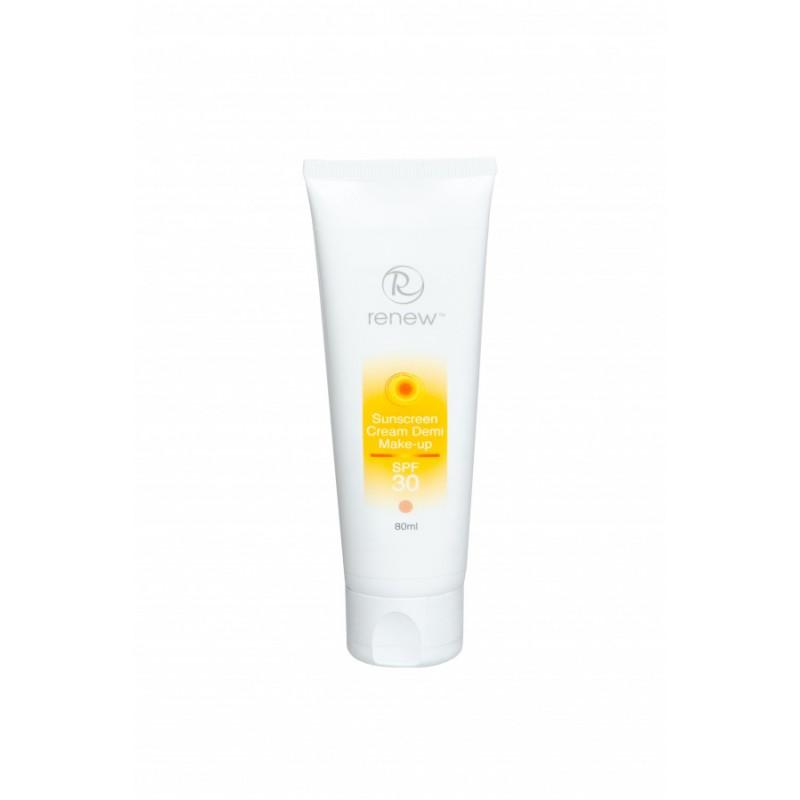 Солнцезащитный тональный крем-антиоксидант SPF-30 80мл / Renew Sun Protect Sunscreen Cream Demi Make-up SPF-30 80 ml