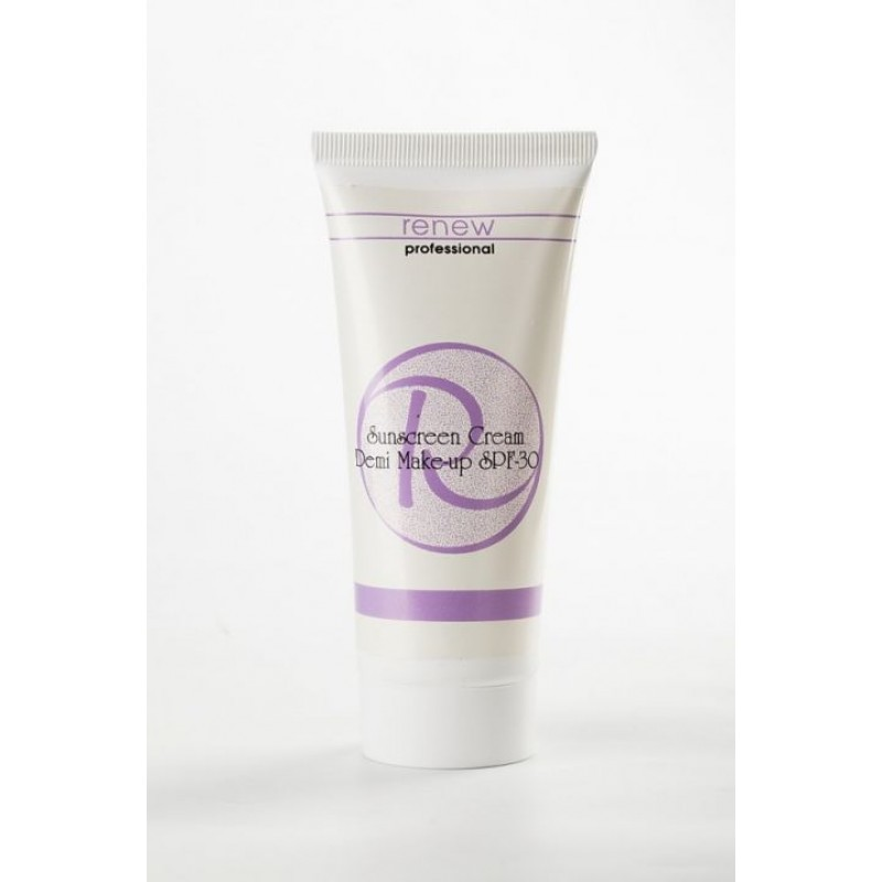 Солнцезащитный тональный крем-антиоксидант SPF-30  / Whitening Sunscreen Cream Demi Make up SPF 30 100ml