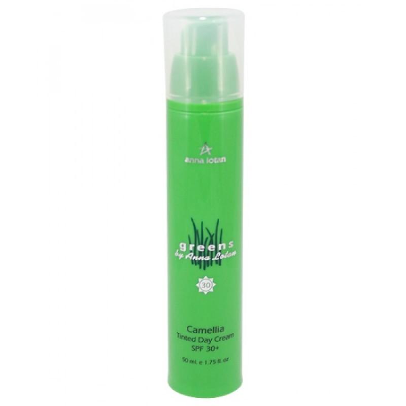 Увлажняющий дневной тональный крем SPF 30+ 70 мл / Greens Camellia Tinted Day Cream SPF30+  70 ml