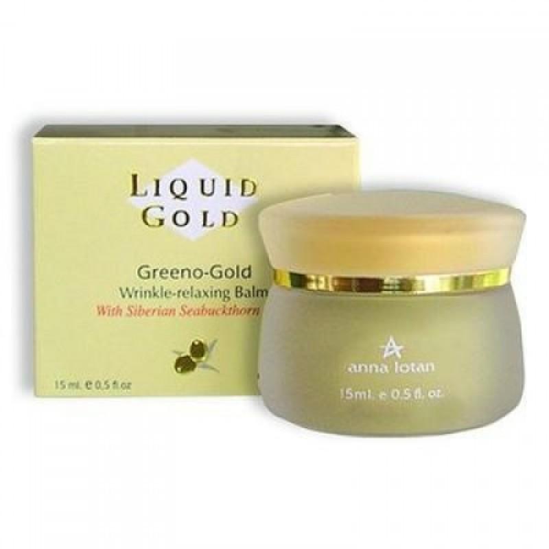 Крем для глаз против морщин / Liquid Gold Greeno Gold Wrinkle Relaxing Balm Gel 15 мл