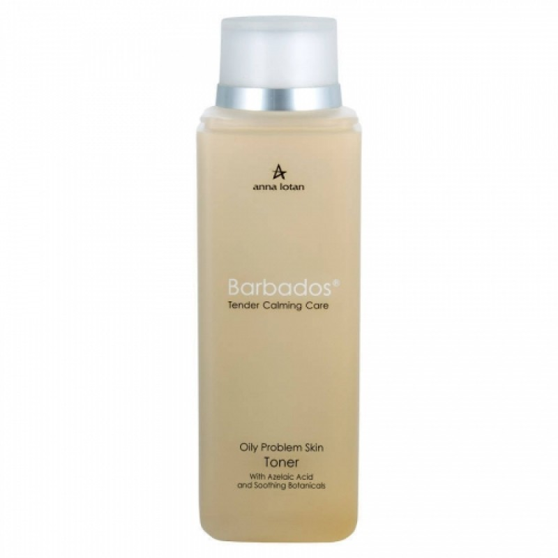 Лосьон для чувствительной, нормальной/жирной кожи / Anna Lotan Barbados Oily Problem Skin Toner 200 мл, 500 мл