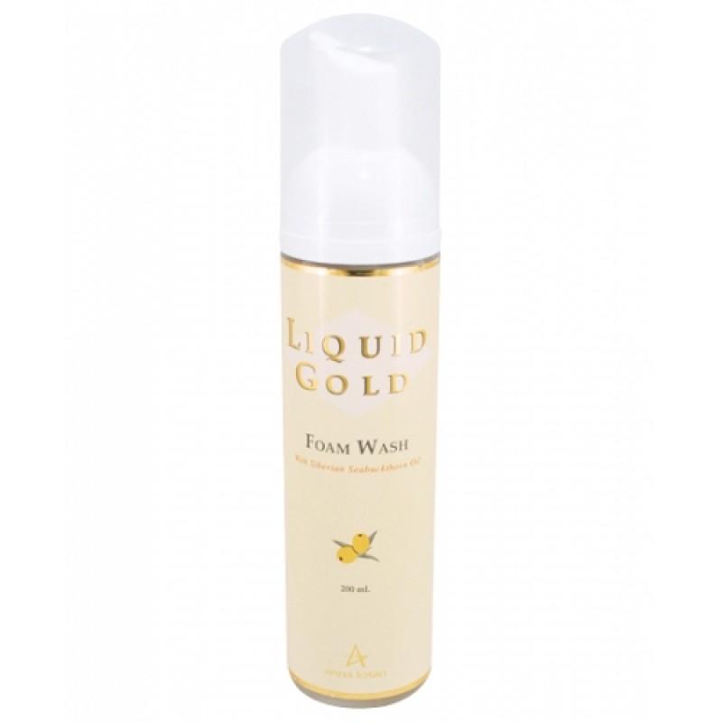 «Золотая» очищающая облепиховая пена / Anna Lotan Liquid Gold Foam Wash 50 мл, 200 мл