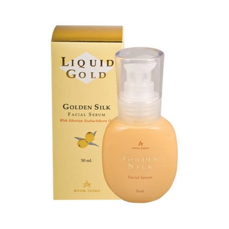 Эмульсия для лица «Золотой шелк» / Anna Lotan Liquid Gold Golden Silk Facial Serum 50 мл, 250 мл