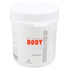 Минеральный пилинг для тела 625 мл. / Anna Lotan Profession Only Dead Sea Mineral Body Scrub With Cayenne 625 ml.