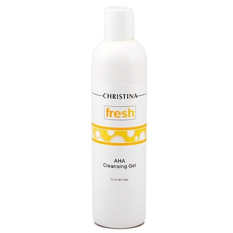 Очищающий гель с фруктовыми кислотами для всех типов кожи / Christina Fresh AHA Cleansing Gel  300 мл