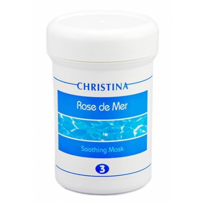 Успокаивающая маска / Christina Rose De Mer Soothing Mask 250 мл (шаг 3)