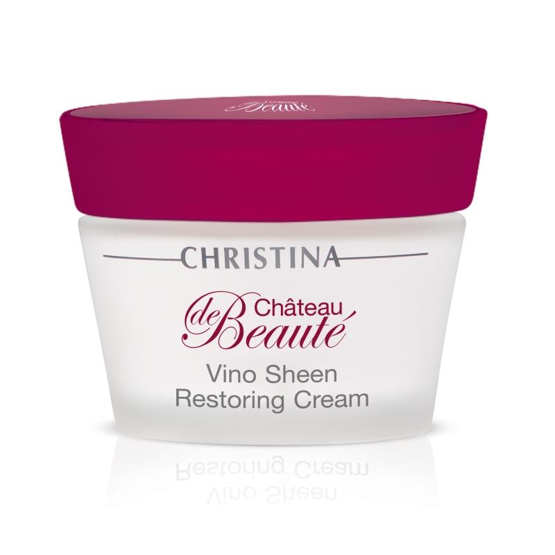 """Восстанавливающий крем """"Великолепие"""" / Christina Château de Beauté Vino Sheen Restoring Cream 50 мл"""