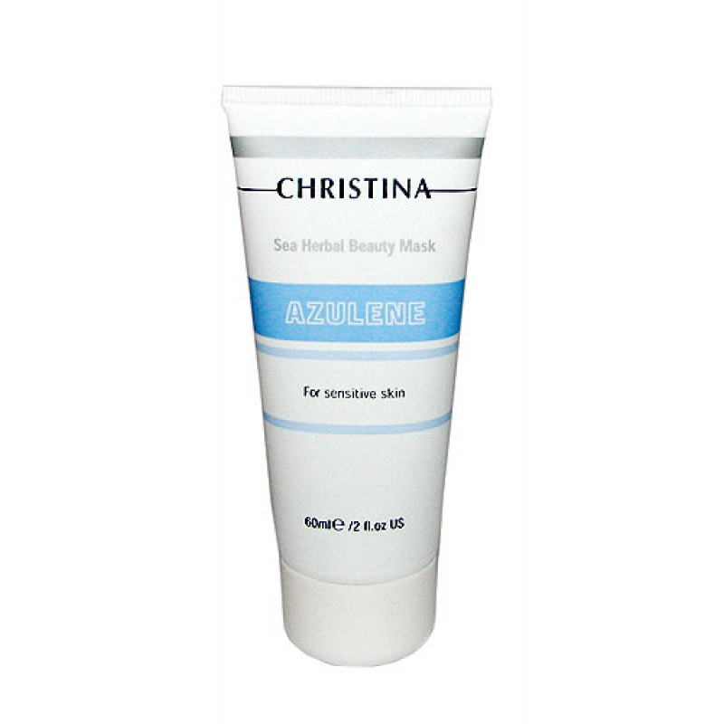 Маска красоты на основе морских трав для чувствительной кожи «Азулен» / Christina Azulene Mask (For Sensitive Skin) 60 мл,  250 мл