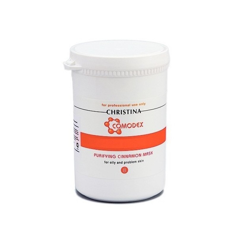Маска очищающая с корицей / Christina Comodex Purifying Cinnamon Mask 500 мл (шаг 8)