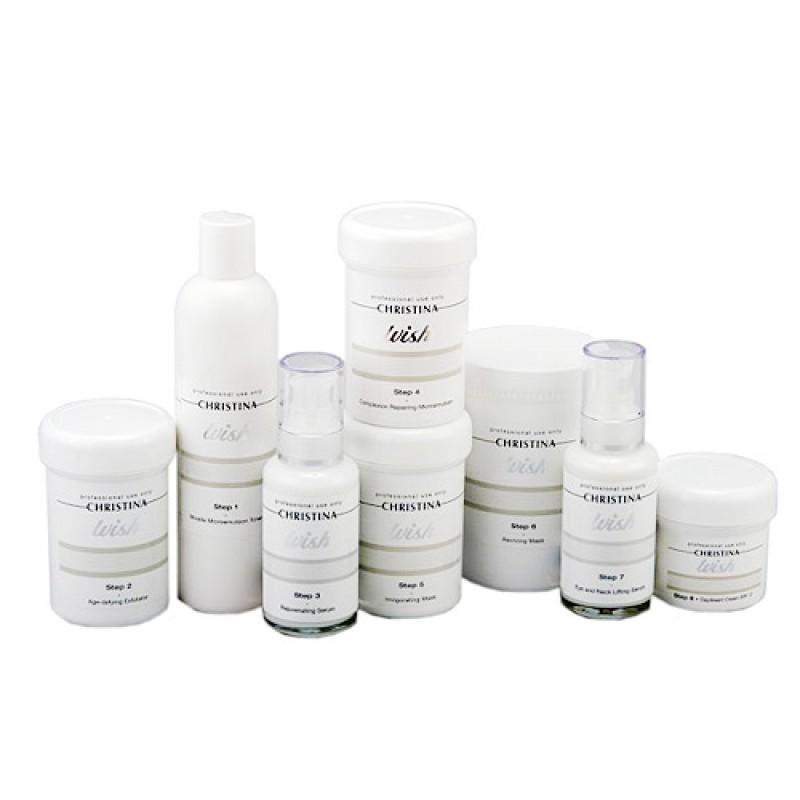 Профессиональный набор / Christina Wish Professional Kit - Anti Aging 8 продуктов