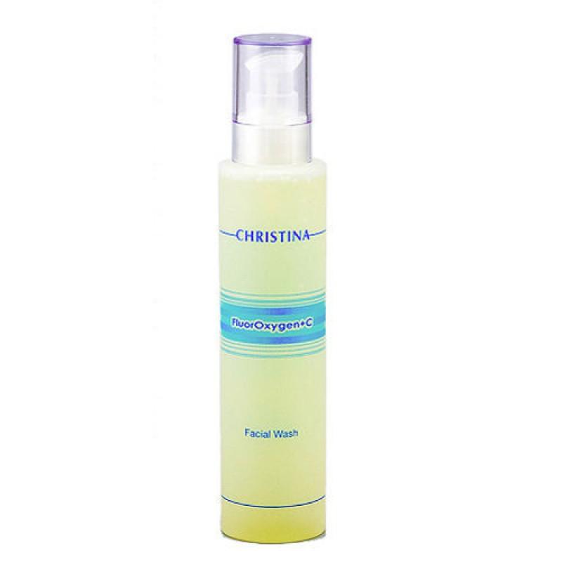 Средство для очищения лица / Christina FluorOxygen C Facial Wash 300 мл