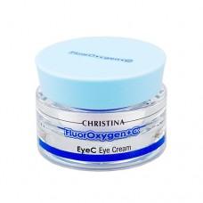 Осветляющий крем для кожи вокруг глаз / Christina FluorOxygen C EyeC Eye Cream 30 мл