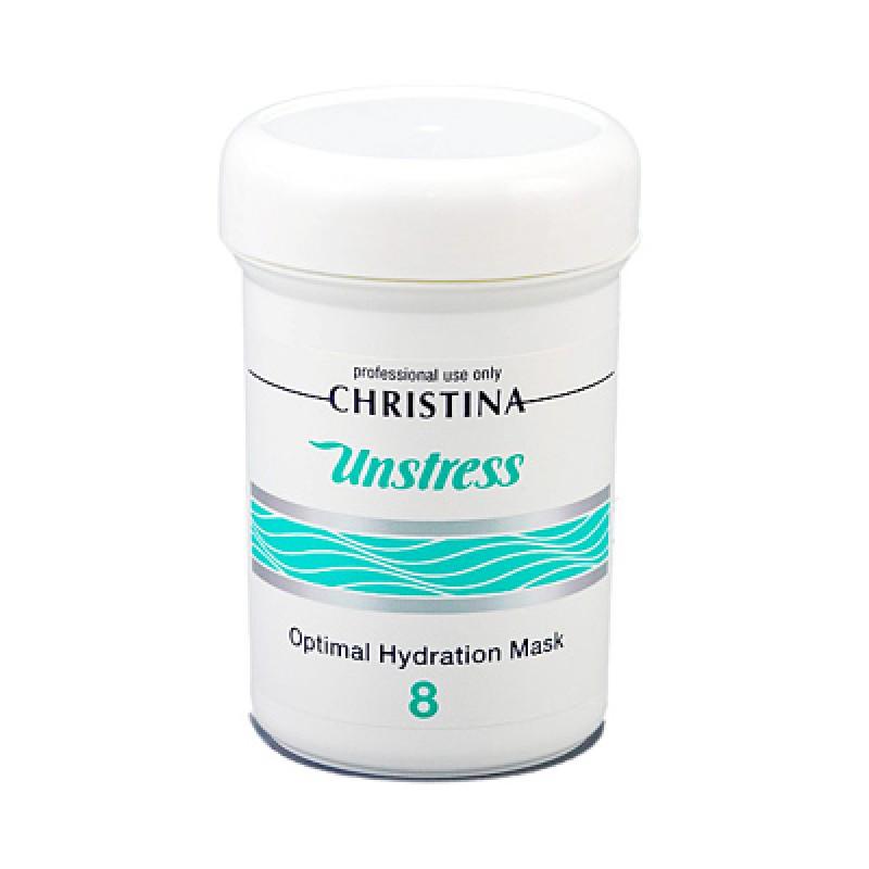 Оптимально увлажняющая маска (шаг 8) / Christina Unstress Optimal Hydration Mask 250 мл (шаг 8)