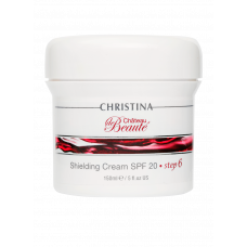 Защитный крем SPF 20 / Christina Château de Beauté Shielding Cream SPF 20 (шаг 6) 150 мл