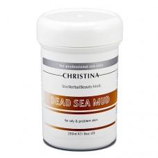Маска красоты на основе морских трав для жирной и проблемной кожи «Грязь Мертвого моря» / Christina Dead Sea Mud Beauty Mask 250 мл