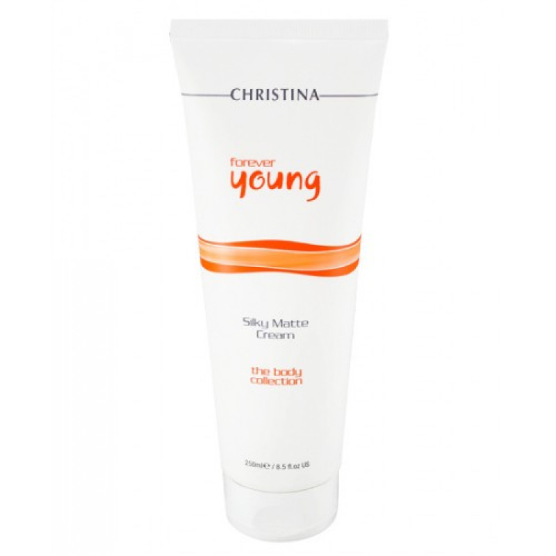 Нежный матирующий крем для тела / Christina Forever Young Silky Matte Cream 250 мл
