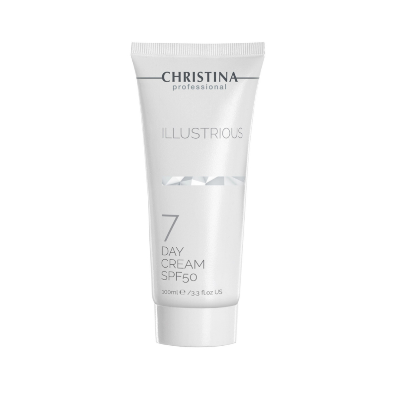 Дневной крем SPF 50, 100 мл ( Шаг 7 ) / Christina Illustrious Day Cream SPF 50 ( Step 7 )