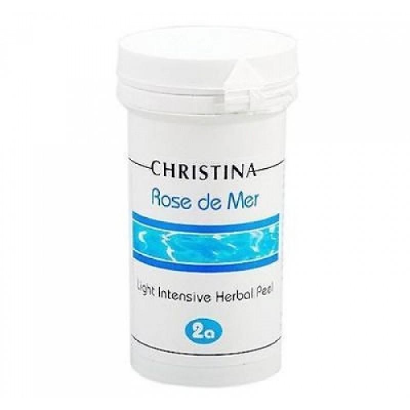 Легкий интенсивный пилинг  / Christina Rose De Mer Light Intensive Herbal Peel 100 мл (шаг 2a)