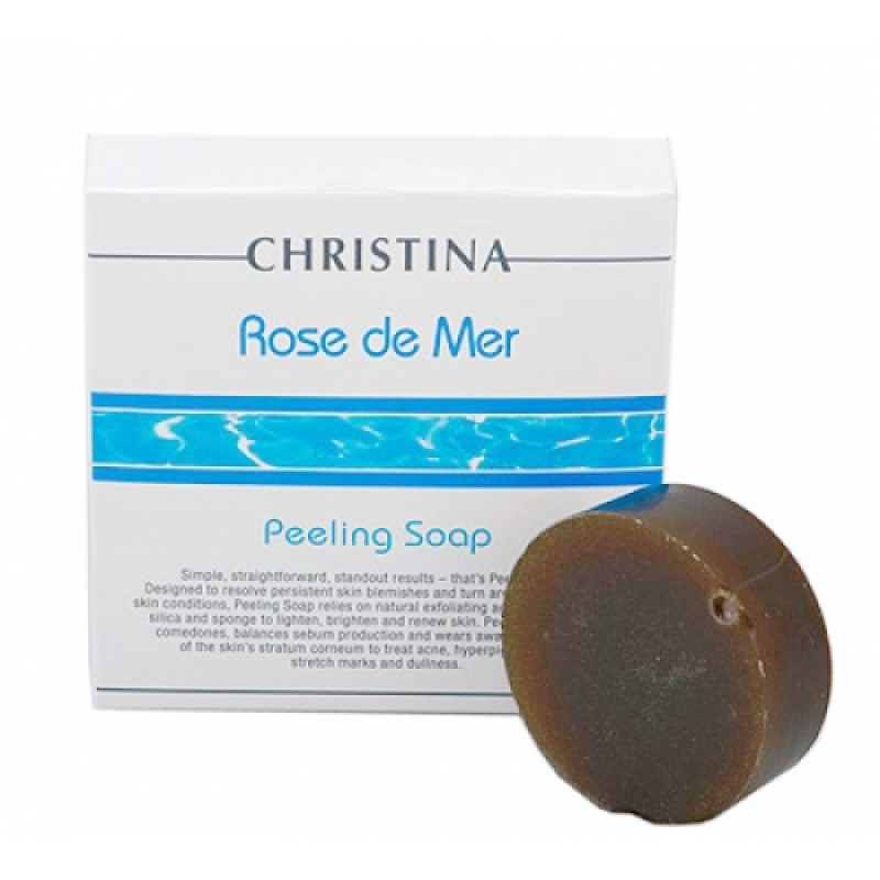 Пилинговое мыло / Christina Rose De Mer Peeling Soap 50 гр