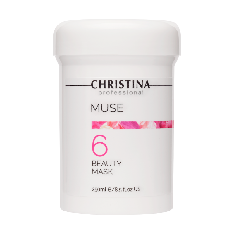 Маска красоты с экстрактом розы / Christina Muse Beauty Mask 250 мл (шаг 6)
