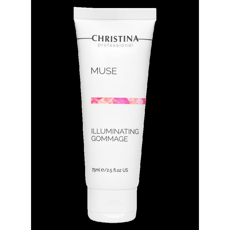 Отшелушивающий гоммаж для сияния кожи / Christina Muse Illuminating Gommage 75 мл