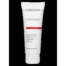 Матирующий защитный крем SPF 15 / Comodex Mattify & Protect Cream SPF 15 75ml