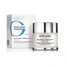 Крем увлажняющий для нормальной и жирной кожи с SPF 17 / GiGi Bioplasma Moisturizer Supreme SPF 17 (For Normal To Oily Skin) 50ml