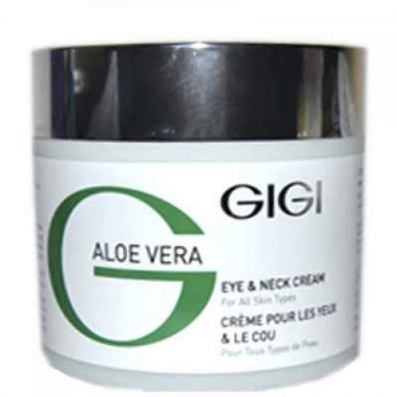 Крем для век и шеи Алое Вера / GiGi Aloe Vera Eye & Neck Cream 250 мл