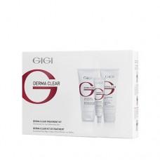 Набор  для жирной кожи Дерма Клиар / GiGi Derma Clear Treatment Kit (3 штуки)