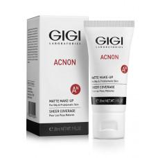 Крем-тон матирующий 30 мл. /  GIGI ACNON - Matte Make-up 30 ml