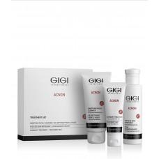 Набор Акнон для домашнего ухода / GiGi Acnon Acne Treatment Set 3 Products