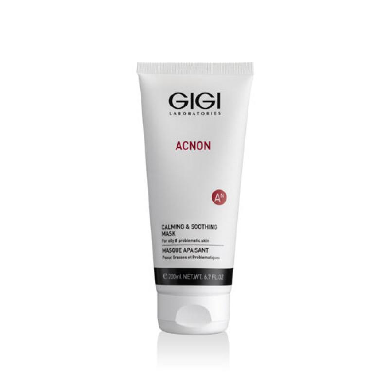 Маска поростягивающая охлаждающая 200 мл / GiGi Acnon Balances And Relaxing Mask 200 ml