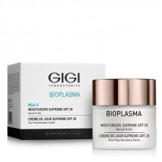Крем увлажняющий для нормальной и сухой кожи  / GiGi Bioplasma Moisturizer Supreme SPF 20 (For Normal To Dry Skin) 50ml