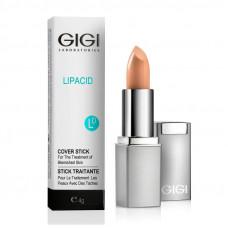 Лечебный тональный крем (карандаш) / GiGi Lipacid Anti Bacterial Concealer Cover LipStick 4gr