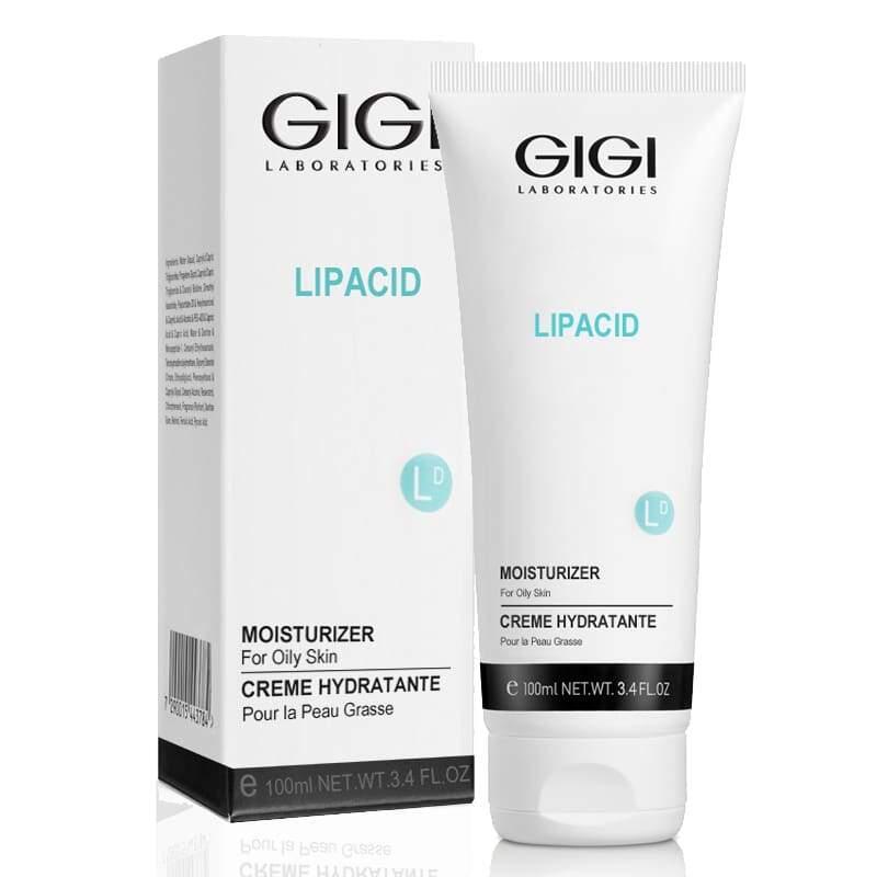 Увлажняющий крем для жирной проблемной кожи / GiGi Lipacid Moisturizer  For Oily Skin 100ml