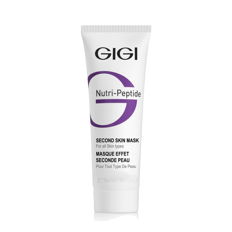 Маска-пилинг 75 мл.  / GiGi NUTRI-PEPTIDE Second Skin Mask 75 ml.