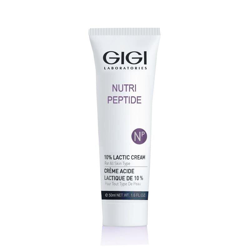 Пептидный увлажняющий крем с 10% молочной кислотой 50 мл. / GIGI Nutri Peptide 10% Lactic Cream 50ml