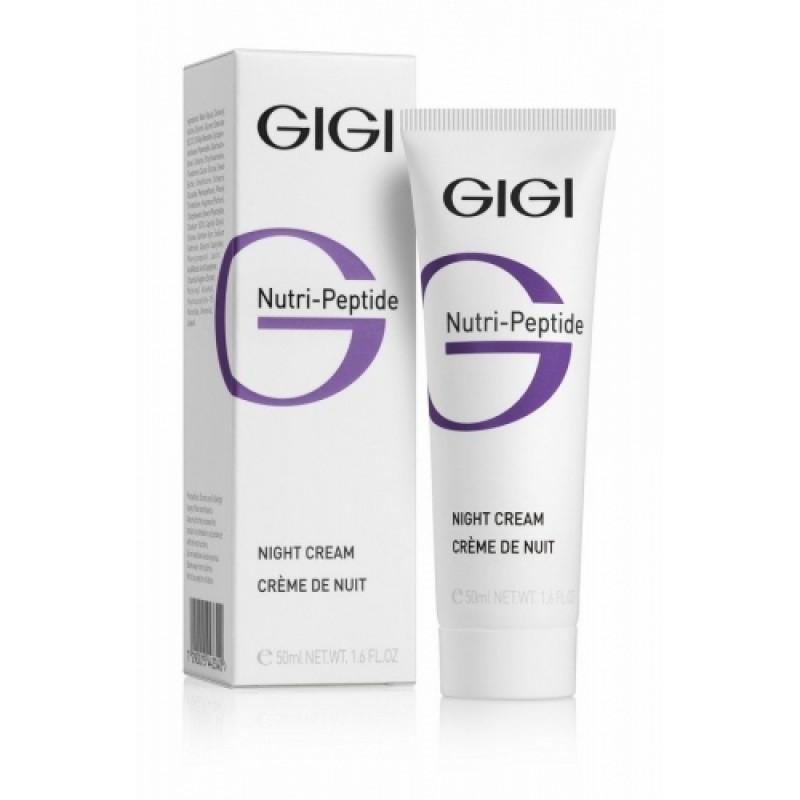 Пептидный ночной крем / GiGi Nutri Peptide Night Cream 200 мл
