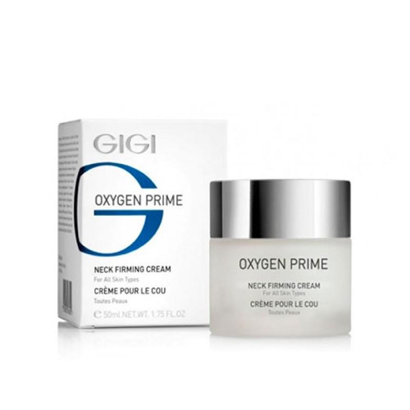 Крем укрепляющий для шеи / GiGi Oxygen Prime Neck Firming Cream 50ml