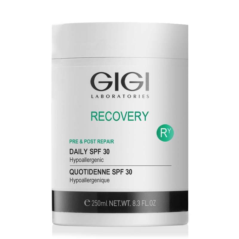 Увлажняющий крем SPF30 / GiGi Recovery Daily SPF 30 50 мл, 250 мл