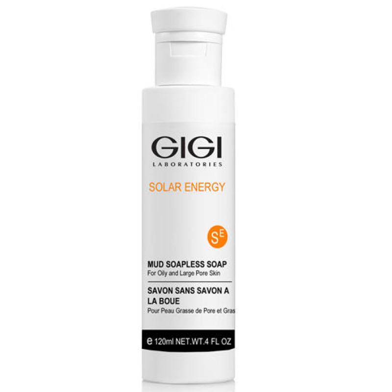 Ихтиоловое мыло 120 мл. / GiGi Solar Energy Mud Soapless Soap For Oily Skin 120 ml