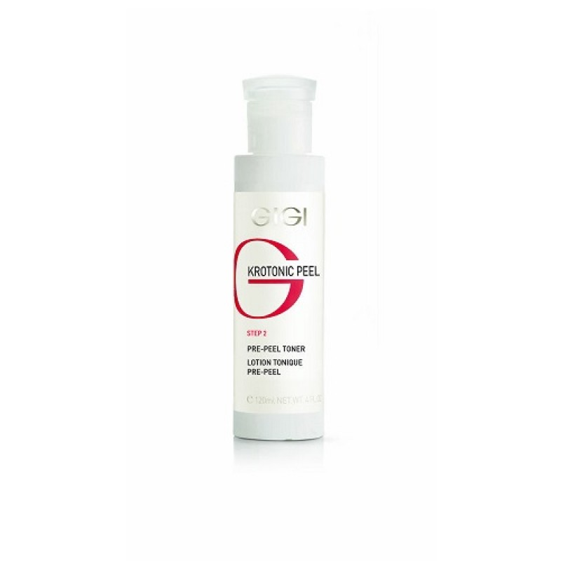 Предпилинговый лосьон / GiGi Krotonic Peel Step 2 Pre Peel Toner pH 3.5 120ml