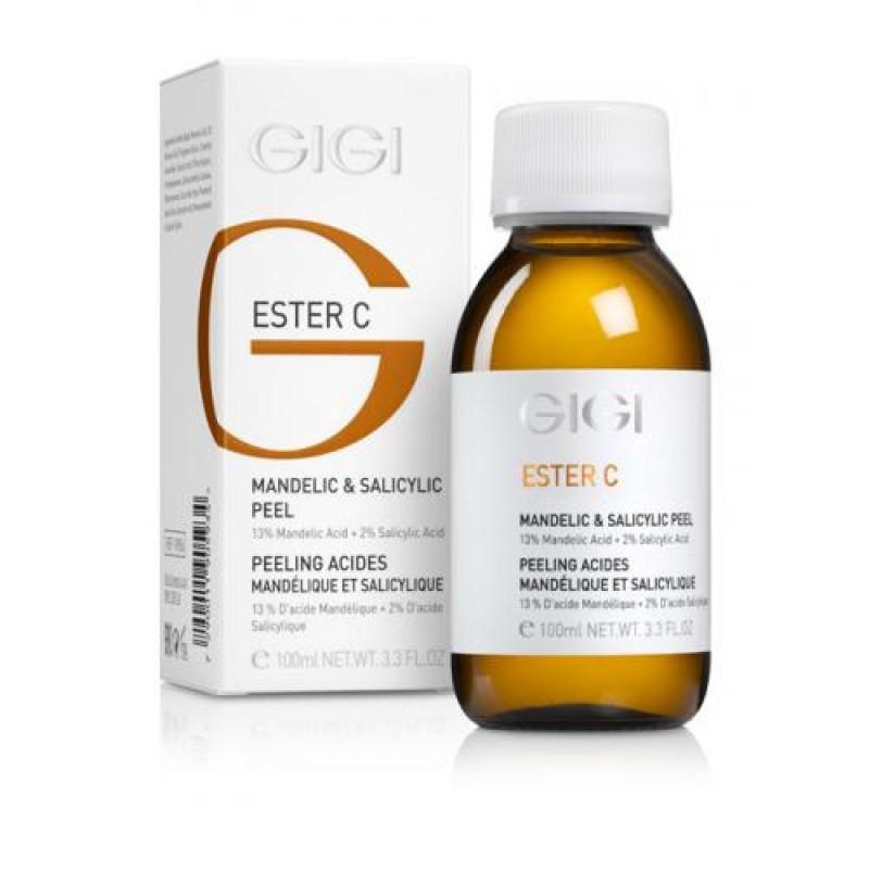 Пилинг миндальный 13% + салициловый 2% / GiGi Ester C Mandelic & Salicylic Acid 100ml