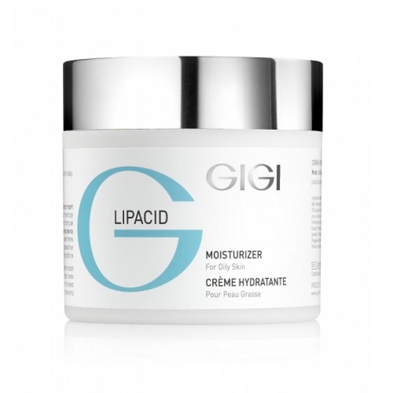 Увлажняющий крем для жирной проблемной кожи / GiGi Lipacid Moisturizer  For Oily Skin 250ml