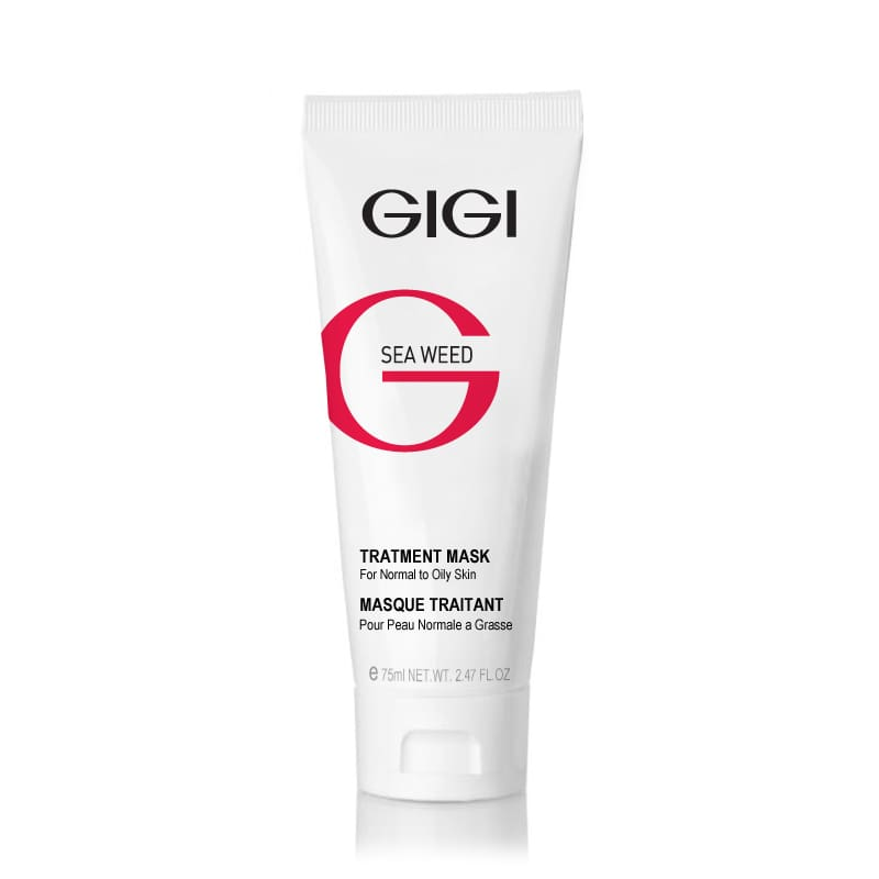 Лечебная маска 75 мл. / GIGI Sea Weed Treatment Mask for Normal to Oily Skin 75ml