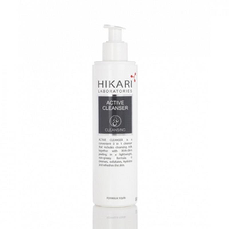 Очистительный гель на основе кислот с витамином С 250 мл. 500 мл. / HIKARI ACTIVE Cleanser 250 ml. 500 ml.