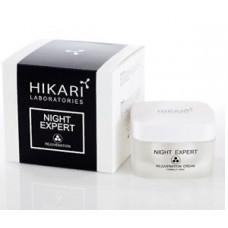 Ночной крем для жирной кожи Хикари, 50 мл / Night Expert cream for oily skin Hikari, 50 ml