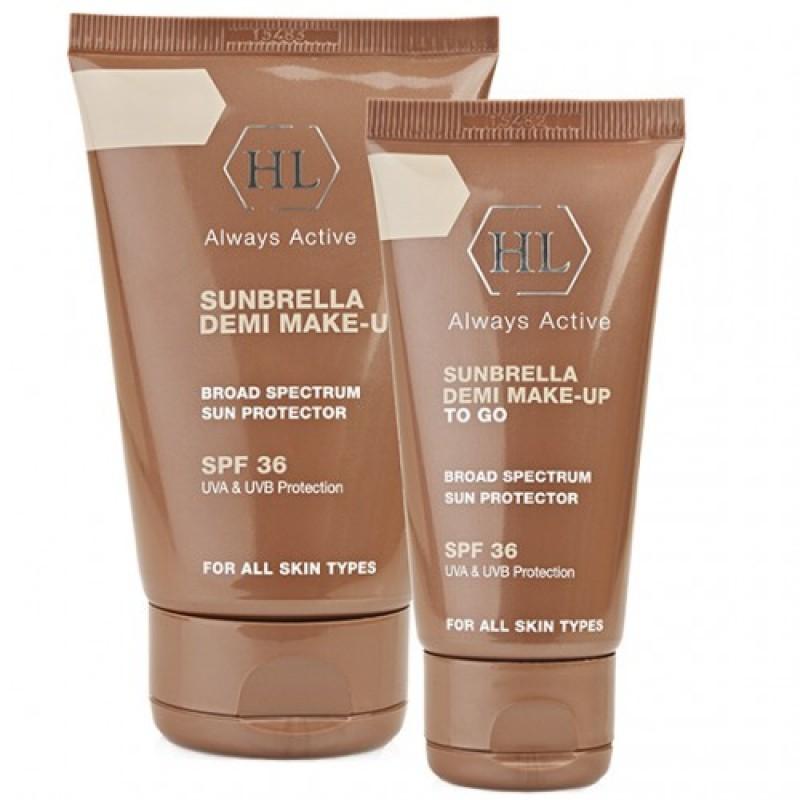 Солнцезащитный крем с тонирующим эффектом SPF-30 / Holy Land Sunbrella SPF 30 Demi Make-Up 50 мл, 125 мл